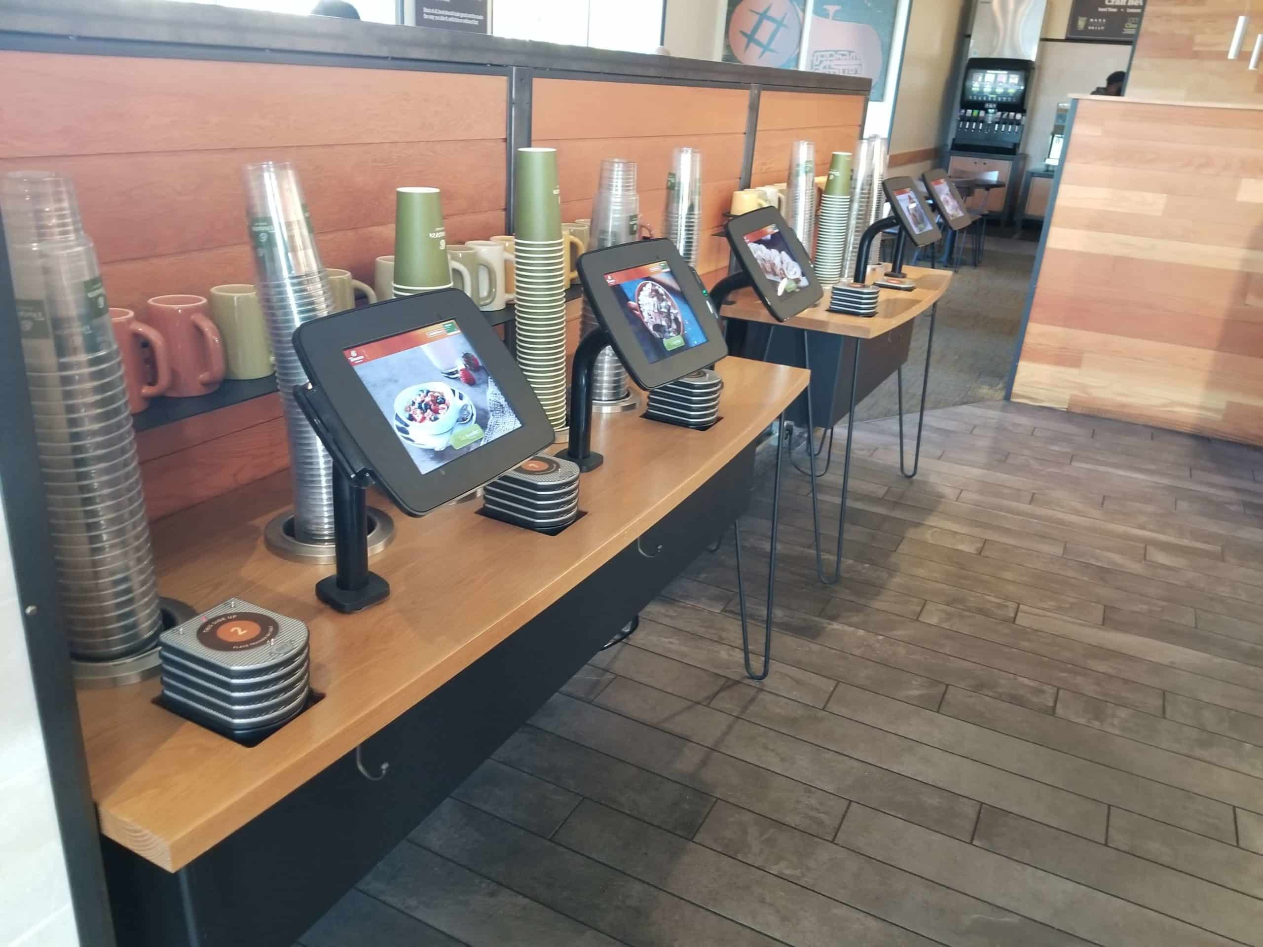 panera bread モバイルオーダー販売システム